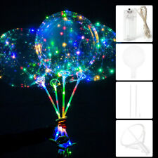 Christmas Decoration Battery Power LED String Light With Transparent Balloon 20""