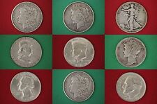 MAKE AN OFFER $5.00 Face Value 90% Silver Junk Coins 1 Silver Dollar INCLUDED