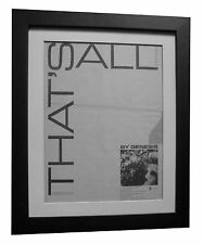 GENESIS+COLLINS+That's All+POSTER+AD+RARE ORIGINAL 1983+FRAMED+FAST GLOBAL SHIP