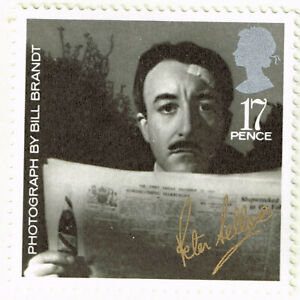 UK Famous Film Celebrity Peter Sellers stamp 1985 MLH