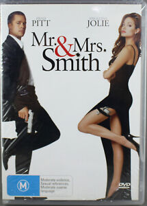 Mr & Mrs Smith - DVD (2006) Brand New Sealed