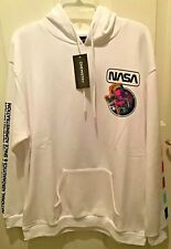 Chemistry NASA White Hoodie NWT Size XL Sweatshirt