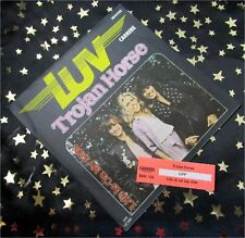 LUV - Trojan Horse * KULT 1978 * TOP SINGLE (M-:)) TOP COVER + JUKEBOX STREIFEN