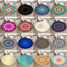 Hippie Mandala Round Soft Yoga Mat Rugs Floor Bathmat Retro Rug Non-slip Carpet