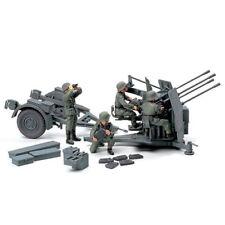 TAMIYA 32554 German 20mm Flakvierling 38 Anti Aircraft Gun 1:48 Military Kit
