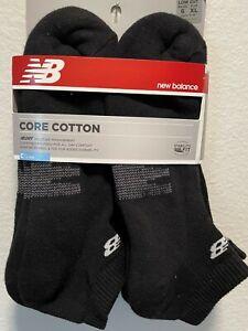 New Balance Core Cotton Men's low Cut 6 Pair