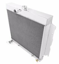 """1964 1965 1966 1967 - 69 Dodge Plymouth 2 Row DR Champion Radiator 22"""" Wide Core"""