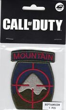 Call of Duty: WWII 2 Mountain Iron-On Patch [Memorabilia, Activision, BioWorld]
