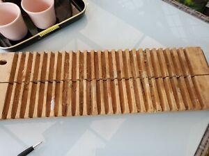 zigarrenpresse zigarrenform Holz alt
