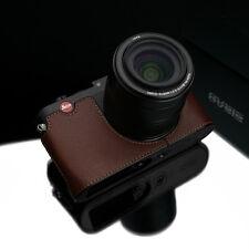 GARIZ Black Label leather case Leica X Vario BL-LCXVBR Brown