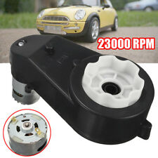 12V Electric Motor Gear Box 23000RPM For Kids Ride On Car Bike Toy Spare Part