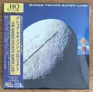 Mathieson*Steve Lukather*Jeff Porcaro*BAKED POTATO LIVE*Japan HQ-CD (Toto)
