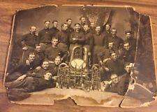 Pair 1898 160th Indiana Regimental Band Spanish - American War RARE