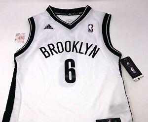 Nike Brooklyn Nets NBA #6 Swingman Jersey Youth Size Large