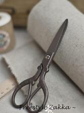 FREE SHIPPING - Antique Vintage Style Stainless Steel Blade Scissor - PARROT