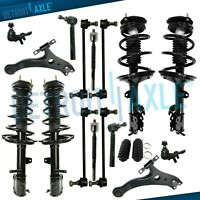 Front /& Rear Struts w// Coil Springs FCS Kit for Toyota Highlander AWD 3.5L