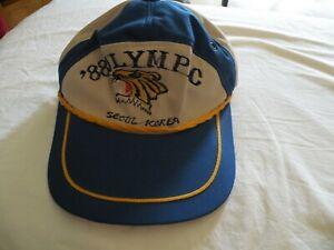 Vintage 1988 Seoul Korea Summer Olympics Hat NOS