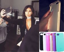 Light up Selfie Case for iPhone8  6 6s 6plus 7 7plus Samsung galaxy S6/S7/S8edge