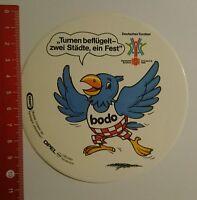Aufkleber/Sticker: Deutsches Turnfest Dortmund Bochum 1990 Bodo (07081637)