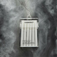 Creative Acrylic Transparent Cigarette Case Box Crossbody Chain Bag Decor Gift