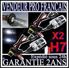 PAIRE LAMPE FEU PHARE DE RECHANGE 2 AMPOULES POUR KIT XENON HID H7 8000k 55W 12V