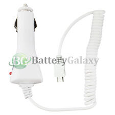 NEW White Rapid Fast Micro USB Battery Travel Car Charger For Android Cell Phone