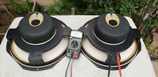 Vinrage JBL Speakers LE14A Woofers 16oh SpeakerS pair C56/L101 S99 C53 C36 C38