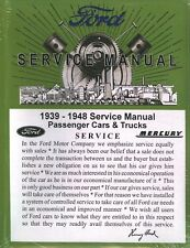 1939 40 41 42 43 44 45 46 47 48 49  FORD CAR/TRUCK  SHOP MANUAL-475 PAGES