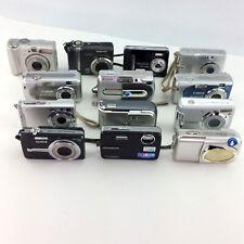Lot 13 Digital Cameras Canon Powershot Nikon Coolpix Fujifilm Sony Most Tested