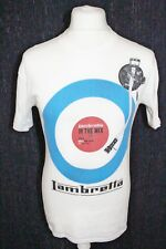 Lambretta Mens White Short Sleeved T Shirt Size Small