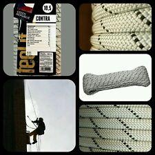 Cuerda escalada semi estatica 10.5mm x 30mts verticales espeleo rappel aventura