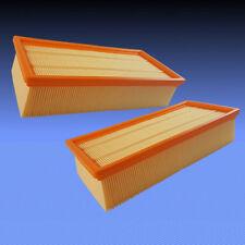 2 Luftfilter Falten Papier Absolut Filter Patrone für Kärcher NT 72/2 Eco