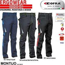 Pantaloni da lavoro multitasca COFRA MONTIJO 300 g/m² edilizia industria logist