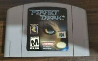 Perfect Dark N64 Authentic Tested and Working COMBINED SHIPPING