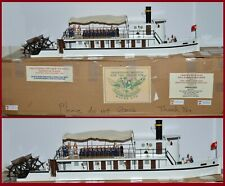 "Trophy of Wales ""Nile River Paddle Steamer Victoria"" *The Sam Floca Collection*"