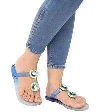 36,5 Sandali e scarpe blu per il mare da donna