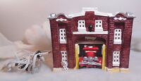 Dept 56 Snow Village Firestation #5032-6 (1983-1984)-Excellent In Original Box