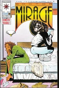 SECOND LIFE OF DOCTOR MIRAGE  #3 1994 VALIANT-DOMESTIC TROUBLE-LAYTON/CHANG..VF+