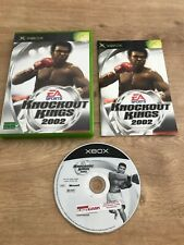 Knockout Kings 2002 - Microsoft Xbox - PAL FR - Avec Notice