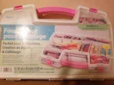 Darice 2025-288 Double-Sided Clear Plastic Craft Tote New 2008