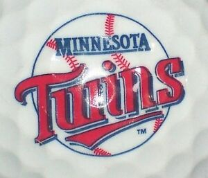 1 Dozen (Minnesota Twins MLB) Pinnacle Mix Mint Golf Balls