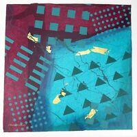 "Frank Rowland Mixed Collage Media Art 24"" x 24"" Signed Original Artwork Lot #9"