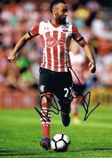 Signed Nathan Redmond Southampton Autograph Photo England