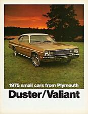 Print.  1975 Plymouth Duster & Valiant - small cars advertisement