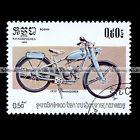 ★ WANDERER 1 SP SACHS 98 cc de 1939 ★ CAMBODGE Timbre Moto Motorcycle Stamp #20