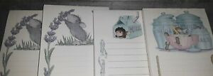 House mouse, note pad lot of 4,unused,milk,cooking,lilacs,,,unused