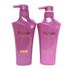 Shiseido TSUBAKI Camellia Volume Touch Shampoo & Conditioner Bottles Set (500ml)