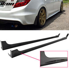 12-15 Honda Civic 9th 4Dr Mugen RR Style Side Skirts Rocker Panels Pair -ABS