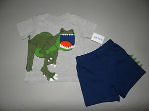 NWT, Toddler boy clothes, 3T, Carter's T-REX set/     ~SEE DETAILS ON SIZE/ SALE