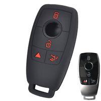For Mercedes Benz E Class W213 E200 E300 Silicone Key Case Remote Fob Cover